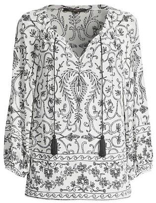 Kobi Halperin Verona Floral Silk Blouse