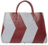 Anya Hindmarch Ebury Featherweight Chevron Maxi Leather Tote