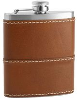 Pottery Barn Beckett Leather Flask