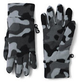 Classic Boys 100 Fleece Gloves-Rich Persimmon