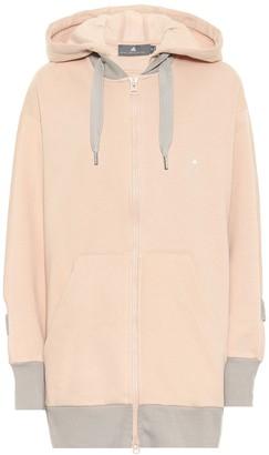 adidas by Stella McCartney Stretch-cotton hoodie