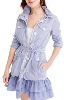 J.Crew Women's Shirting Stripe Jacket