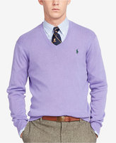 Polo Ralph Lauren Men's V-Neck Pima Sweater