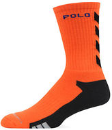 Polo Ralph Lauren Athletic Chevron Crew Socks