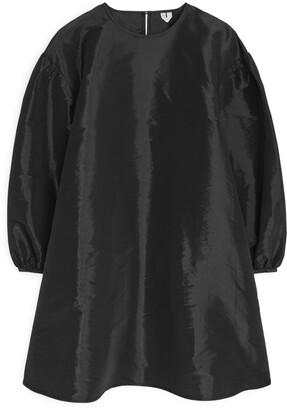 Arket A-Line Taffeta Dress