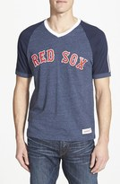 Mitchell & Ness Men's 'Boston Red Sox' V-Neck T-Shirt