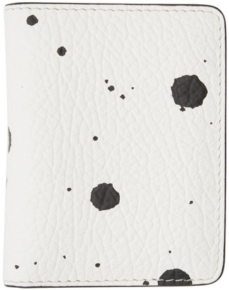 Maison Margiela White and Black Bifold Card Holder