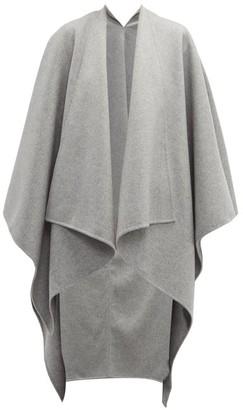 Joseph Wool Blend Poncho - Womens - Grey