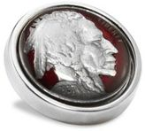 David Donahue Sterling Silver Nickel Lapel Pin