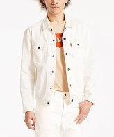 Levi's White Cassidy Trucker Jacket