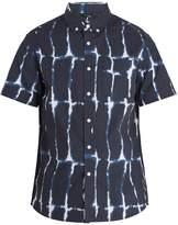 Saturdays NYC Esquina short-sleeved cotton shirt