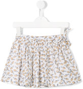 Simple pineapple print skirt - kids - Cotton - 3 yrs