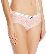 Tommy Hilfiger Women's Micro Logo Band Hipster Panty with Lace