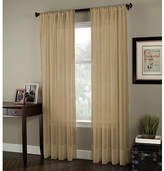 CHF Rod-Pocket Sheer Curtain Panel