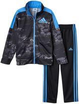 adidas Baby Boy Track Jacket & Pants Set