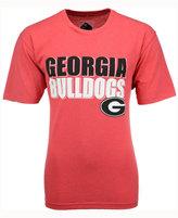 Colosseum Men's Georgia Bulldogs Wordmark Stack T-Shirt