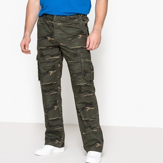 Castaluna Men'S Big & Tall Camouflage Print Combat Trousers
