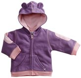 Baby Soy Fleece Hoodie - Indigo-12-24 Months