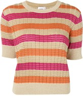 SUBOO Striped Knitted Top