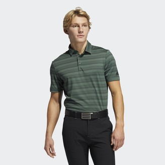adidas Heather Snap Polo Shirt