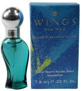 Giorgio Beverly Hills Wings FOR MEN by 0.25 oz EDT Mini Spray by