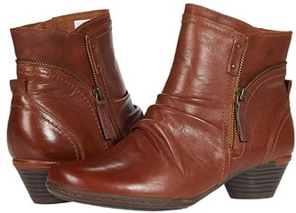 Cobb Hill Laurel Bootie (Tan) Women's Boots