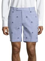 Polo Ralph Lauren Stretch Straight-Fit Embroidered Shorts