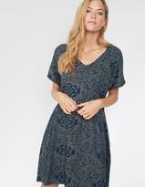 Fat Face Eliza Linear Batik Dress