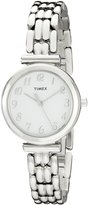 Timex Women's Classics T2P200 Stainless-Steel Analog Quartz Watch