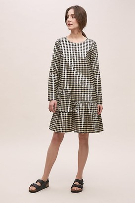 Just Female Bacia Checked Dress