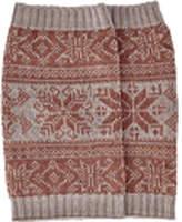 San Diego Hat Company Intarsia Infinity Knit Scarf BSS1687 (Women's)