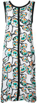 Marni Whisper print trapeze dress