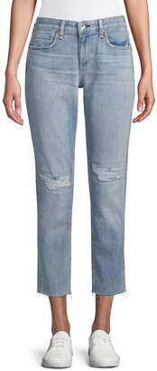 Rag & Bone Distressed Slim Boyfriend-Fit Jeans