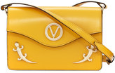 Valentino By Mario Valentino Jade Flap Lizard Shoulder Bag, Yellow