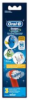 Oral-B Stages Power Sensitive Clean Refills Disney Finding Dory Kids Toothbrush, 3 Count