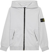 Stone Island Zip up cotton hoody 4-14 years