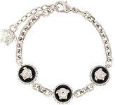 Versace Medusa head charm bracelet