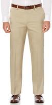 Savane Men's Straight-Fit Crosshatch Stretch Dress Pants