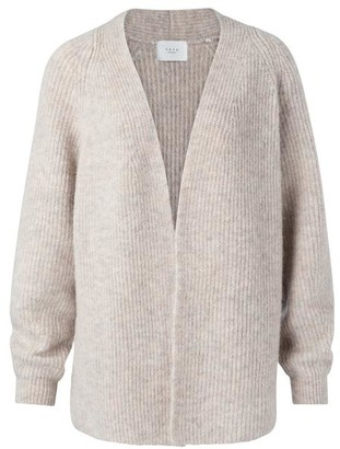Ya-Ya Beige Oversized Cardigan - X Small