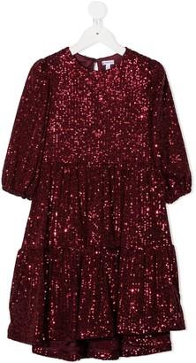 Piccola Ludo Embellished Shift Dress