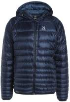 Haglöfs ESSENS III HOOD Down jacket tarn blue/blue ink