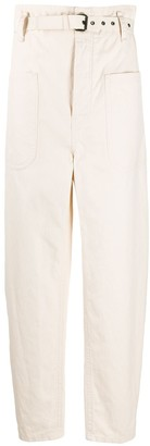 Etoile Isabel Marant wide leg straight trousers