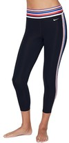 Nike Crop Stripe Tape Capri Leggings