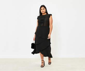 Oasis Curve Lace Midi Dress