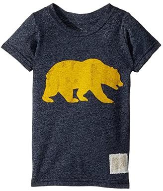 Original Retro Brand The Kids Cal Bear Mocktwist Tee (Toddler) (Mocktwist Navy) Boy's T Shirt