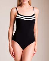 Power Scoop Neck Swimsuit