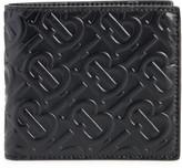 Burberry TB Monogram Embossed Leather Wallet