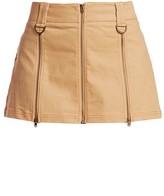 I.AM.GIA Maci Zippered Seamed Mini Skirt