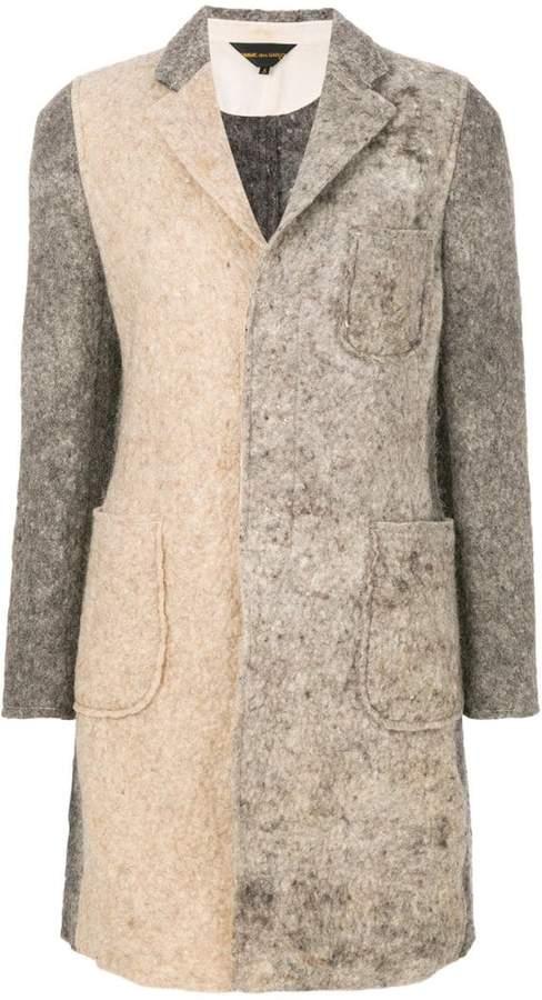 Comme des Garcons patchwork coat