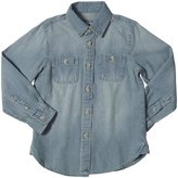 E-Land Kids Chambray Shirt (Toddler/Kid) - Chambray-7